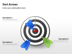 Blancos y flechas _https://www.presentationload.es/dart-arrows-5x5-es.html