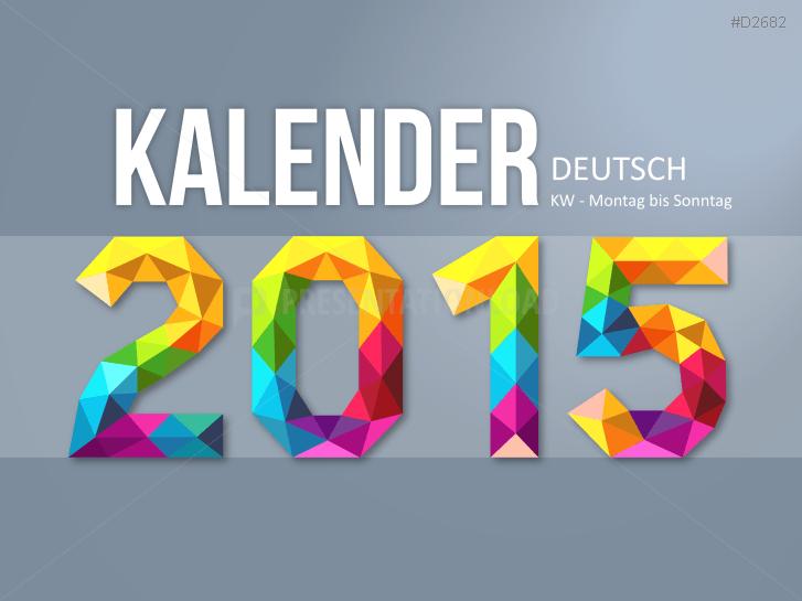 Kalender 2015 _http://www.presentationload.de/kalender-2015.html