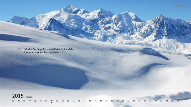 Foto Kalender 2015