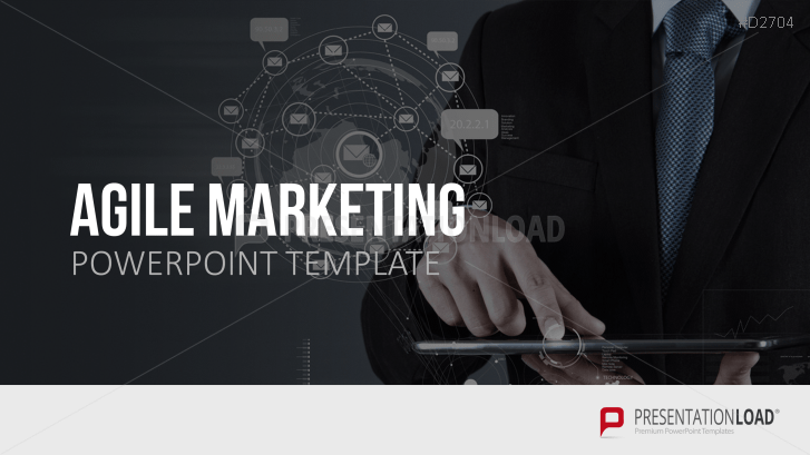 Agile Marketing Powerpoint Template