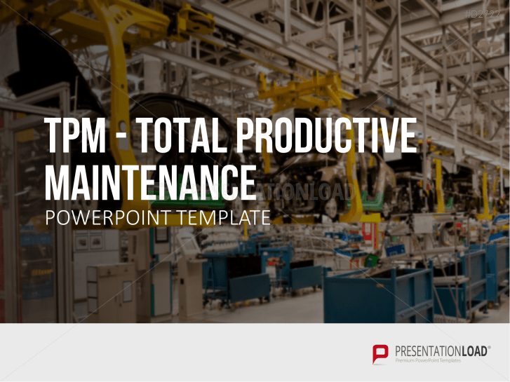Mantenimiento productivo total (TPM) _https://www.presentationload.es/tpm-total-productive-maintenance-ppt-template-es.html