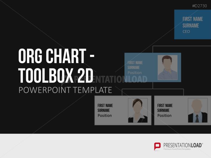 Organigramas- Caja de herramientas bidimensional _https://www.presentationload.es/org-chart-toolbox-2d-es.html