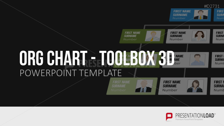 Org Chart Powerpoint Template Toolbox