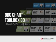 Org Chart - Toolbox 3D _https://www.presentationload.com/org-chart-toolbox-3d.html