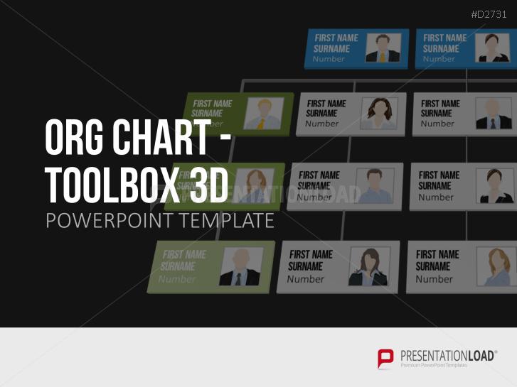 Organigrama- Caja de herramientas 3D _https://www.presentationload.es/org-chart-toolbox-3d-es.html