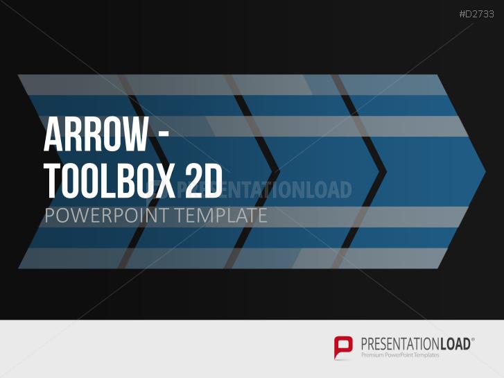 Pfeile - Toolbox 2D _https://www.presentationload.de/pfeile-toolbox-2d.html