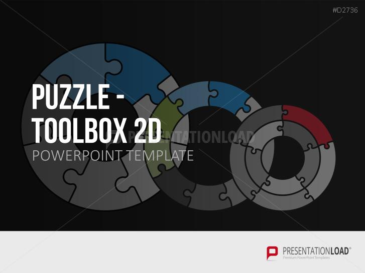 Puzzle - Toolbox 2D _http://www.presentationload.de/puzzle-toolbox-2d.html