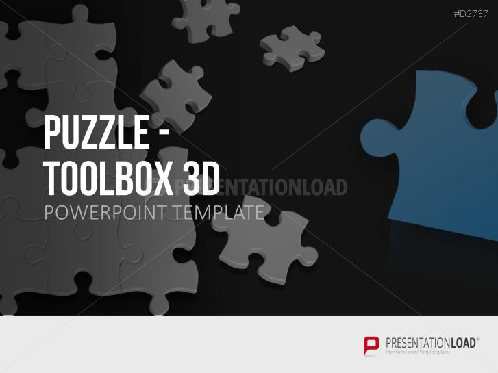 Puzzle - Toolbox 3D _https://www.presentationload.de/puzzle-toolbox-3d.html
