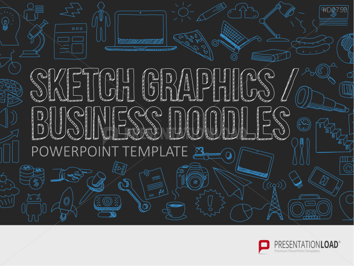 Sketch Graphics / Business Doodles _http://www.presentationload.com/scribble-graphics.html