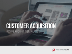 Captación de clientes _https://www.presentationload.es/customer-acquisition-powerpoint-plantilla.html