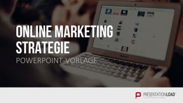 Online Marketing Strategie _https://www.presentationload.de/online-marketing-strategie-powerpoint-vorlage.html