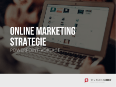Online Marketing Strategie _https://www.presentationload.de/online-marketing-strategie-powerpoint-vorlage.html