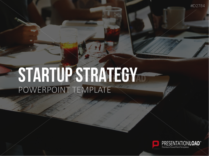 Estrategia start up _https://www.presentationload.es/startup-strategy-powerpoint-plantilla.html