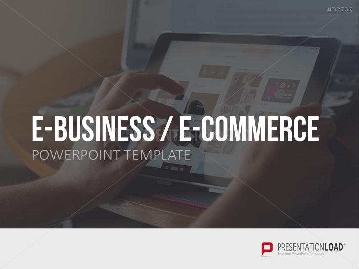 E-Business & E-Commerce _https://www.presentationload.fr/e-business-e-commerce-powerpoint-template-fr.html