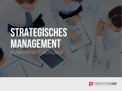 Strategisches Management _http://www.presentationload.de/strategisches-management-powerpoint-vorlage.html