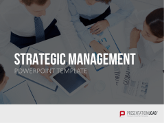 Gestion stratégique _https://www.presentationload.fr/strategic-management-powerpoint-template-fr.html