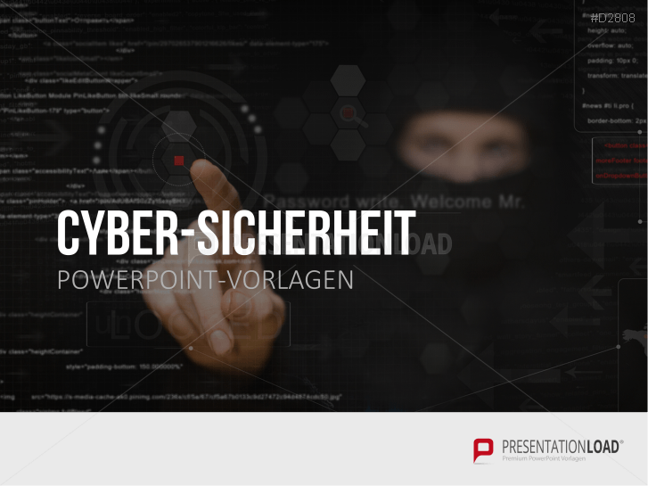 Cyber-Sicherheit _https://www.presentationload.de/cyber-sicherheit-powerpoint-vorlage.html