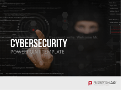 Cybersecurity _http://www.presentationload.com/cybersecurity-powerpoint-template.html