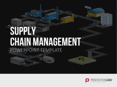 Supply Chain Management _https://www.presentationload.es/supply-chain-management-powerpoint-plantilla.html