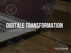 Digitale Transformation _https://www.presentationload.de/digitale-transformation-vorlage.html
