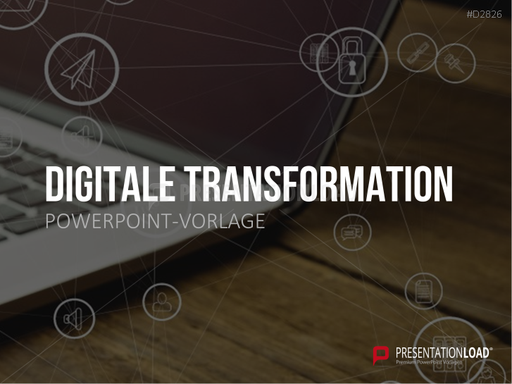 Digitale Transformation _http://www.presentationload.de/digitale-transformation-vorlage.html