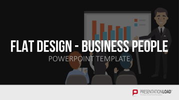 Flat Design – Business People _https://www.presentationload.de/flat-design-business-people-powerpoint-vorlage.html