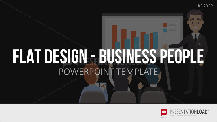 Flat Design – Business People