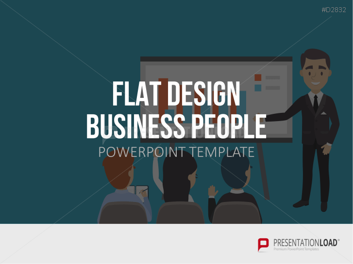 Flat Design – Business People _https://www.presentationload.com/flat-design-business-people-powerpoint-template.html
