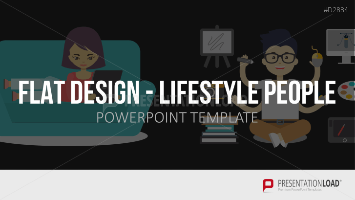 Flat Design – Lifestyle People