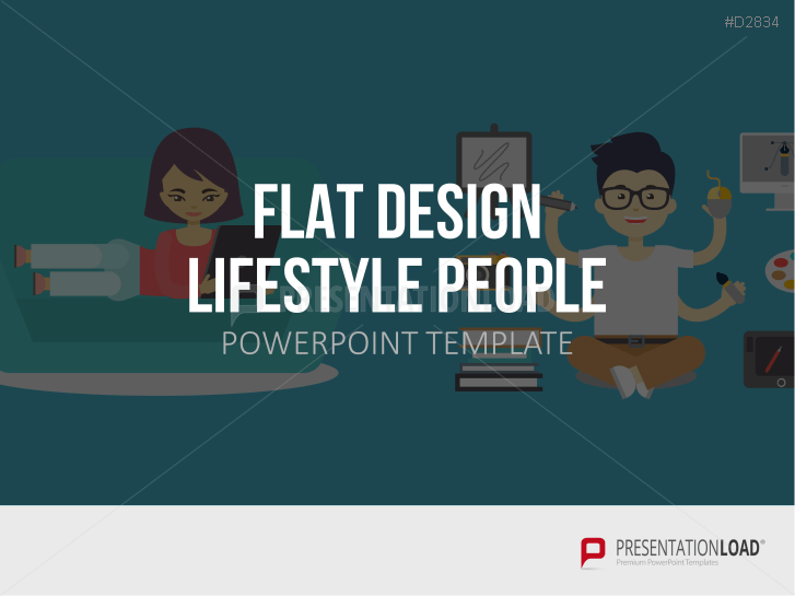 Flat Design – Lifestyle People _https://www.presentationload.de/flat-design-lifestyle-people-powerpoint-vorlage.html
