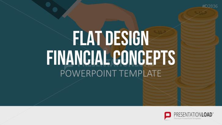 Flat Design – Financial Concepts