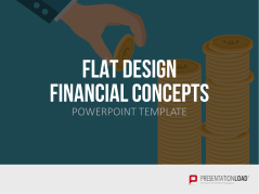 Flat Design – Financial Concepts _https://www.presentationload.es/flat-design-financial-concepts-powerpoint-plantilla.html