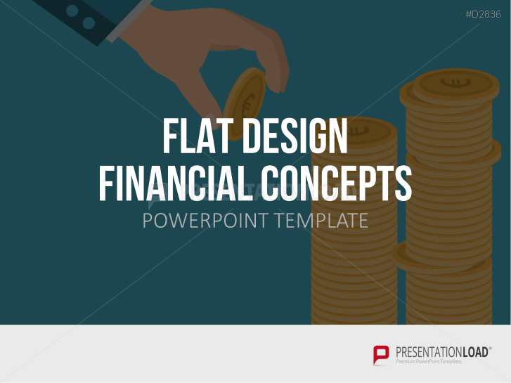Flat Design – Financial Concepts _https://www.presentationload.de/flat-design-financial-concepts-powerpoint-vorlage.html