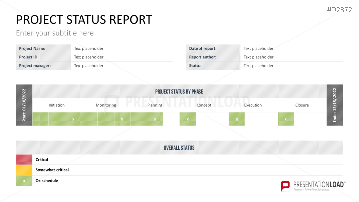 Status Report Template Ppt from img.presentationload.com
