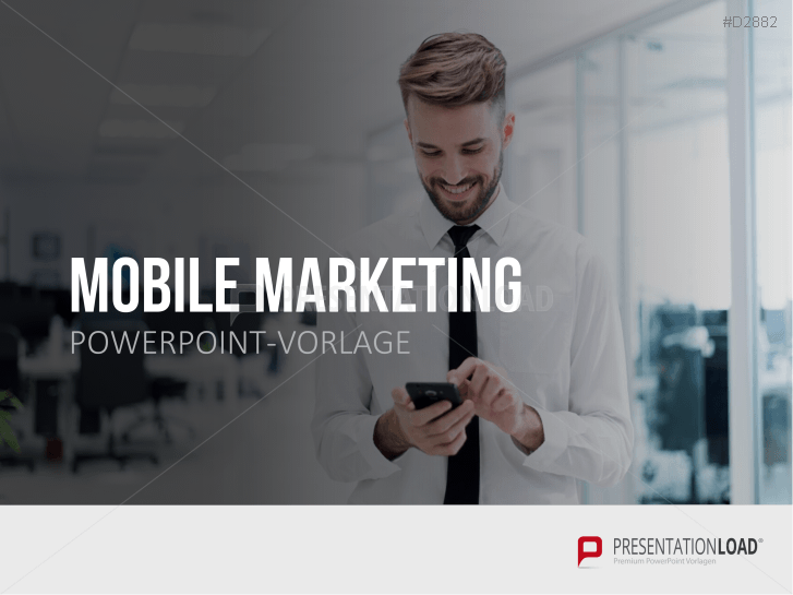 Mobile Marketing _https://www.presentationload.de/mobile-marketing-powerpoint-vorlage.html