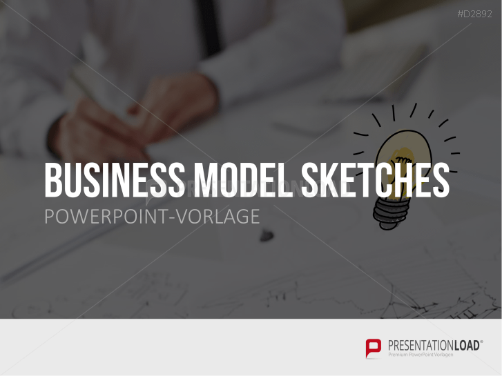 Business Model Sketches _https://www.presentationload.de/business-model-sketches.html