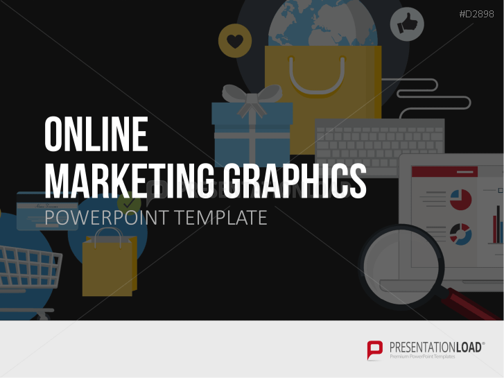 Graphiques de marketing en ligne _https://www.presentationload.fr/graphiques-de-marketing-en-ligne.html