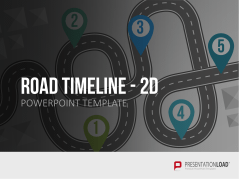 Road Timeline - 2D _https://www.presentationload.fr/fr/Th-mes-d-affaires/Road-Timeline-2D.html