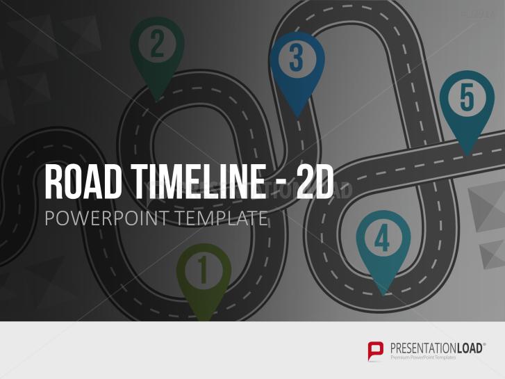 Road Timeline 2D _https://www.presentationload.de/road-timeline-2d.html