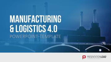 Manufacturing & Logistics 4.0 _https://www.presentationload.com/en/product-management-powerpoint-templates/Manufacturing-Logistics-4-0.html