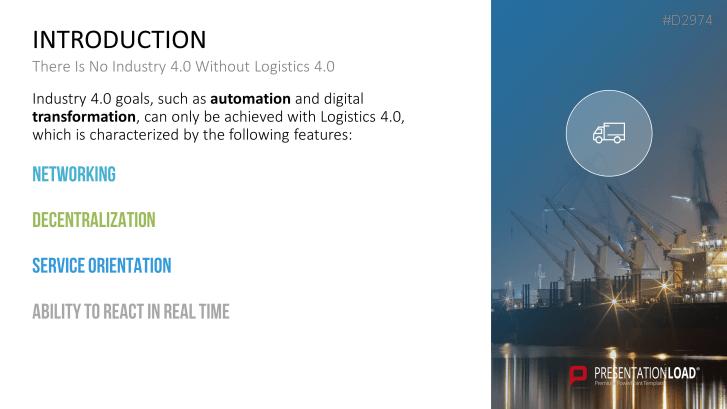 PresentationLoad | Manufacturing & Logistics 4 0