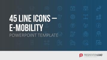 E-Mobilität Line Icons _https://www.presentationload.de/e-mobilitaet-line-icons.html