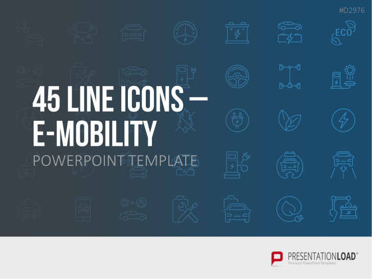 Iconos lineales sobre electromovilidad _https://www.presentationload.es/e-mobility-line-icons-oxid-1.html