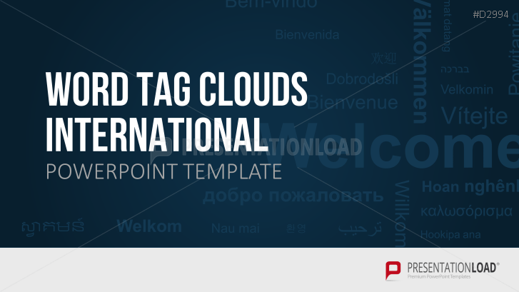 Nubes de palabras – Internacional