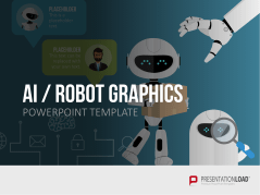 Intelligence artificielle (KI)  graphiques robots _https://www.presentationload.fr/intelligence-artificielle-ki-graphiques-robots.html