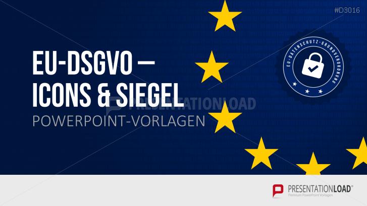 EU-DSGVO – Icons & Siegel