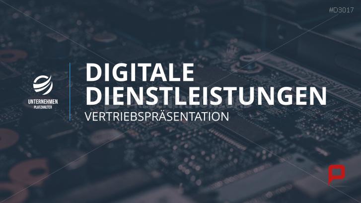 Vertriebspräsentation Digitale Dienstleistung