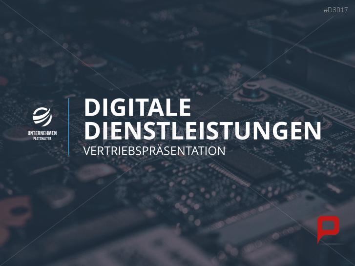 Vertriebspräsentation Digitale Dienstleistung _https://www.presentationload.de/vertriebspraesentation-digitale-dienstleistung.html