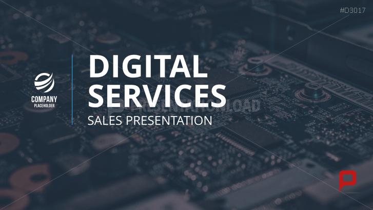 Presentación de ventas de servicios digitales
