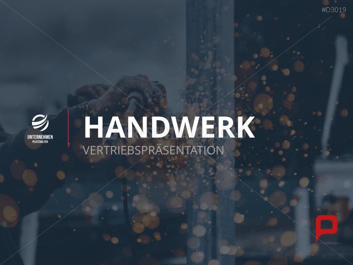 Vertriebspräsentation Handwerk _https://www.presentationload.de/vertriebspraesentation-handwerk.html